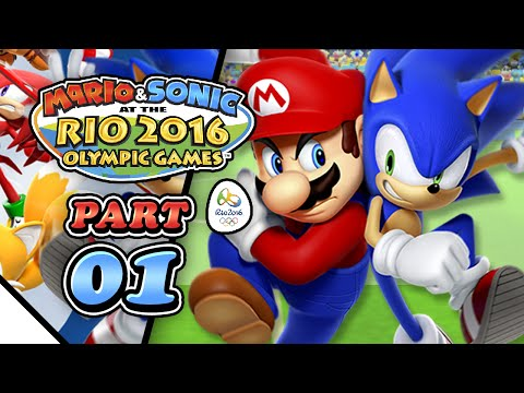 Mario & Sonic at the Rio 2016 Olympic Games: Part 01 - Football (2-Player)