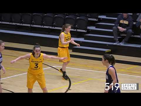OUA Women's Basketball - Western vs Waterloo