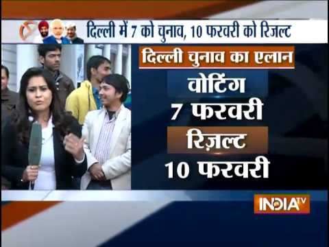 Delhi Elections 2015: Congress's Allegations on Election Commission - India TV