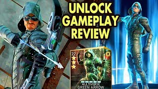 injustice 2 Mobile. Unlocking Multiverse Green Arrow. Gameplay, Review. MY NEW FAVORITE CHARACTER!