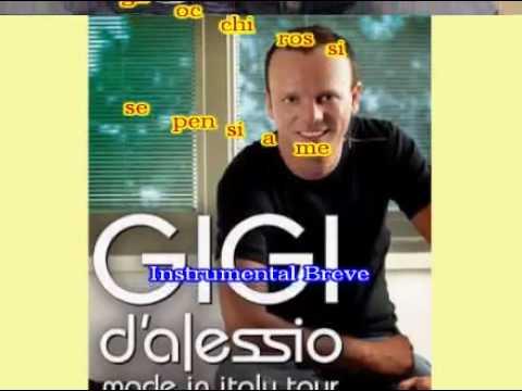 KARAOKE - Gigi D'alessio - Non dirgli mai.