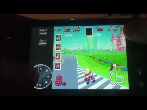 GBA.NES.SNES.SEGA Emulator for Android feat. touch screen control