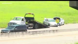 Accident along I-37 causes delays