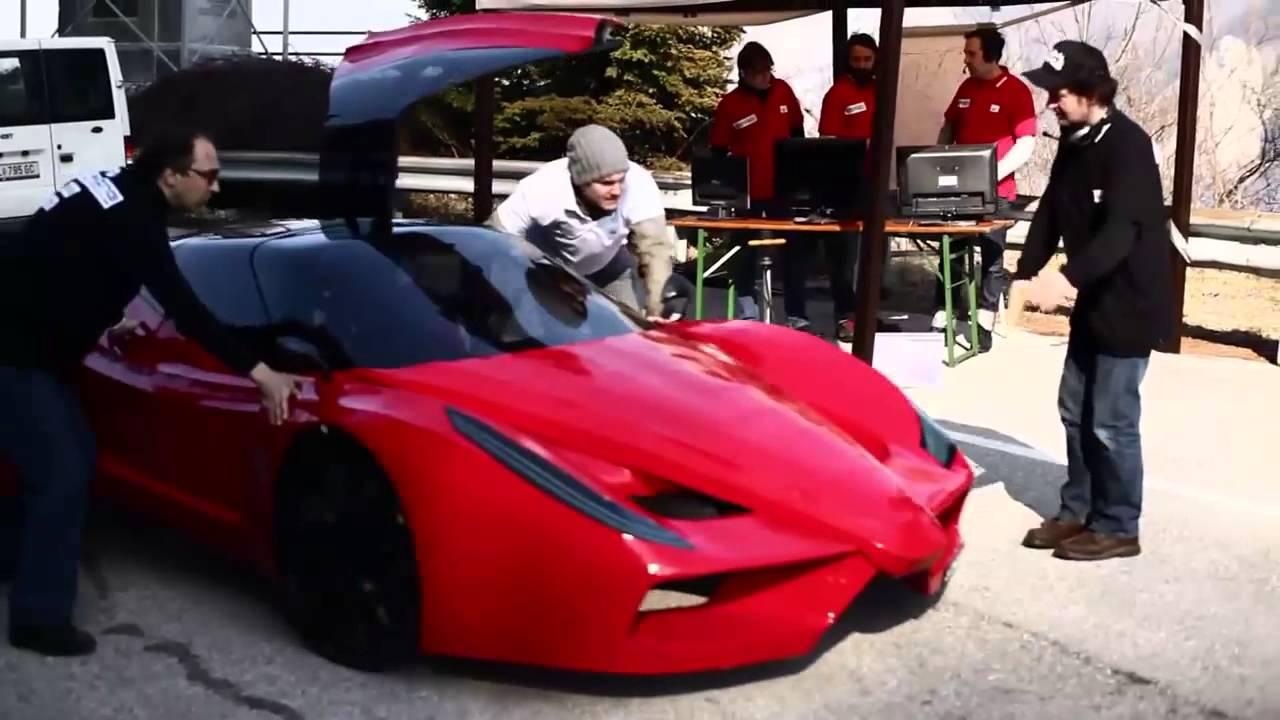 Ferrari görünümlü en yavaş araba
