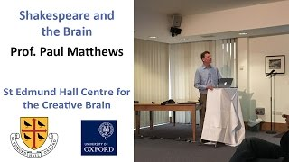 Shakespeare as Observer and Psychologist – Professor Paul Matthews