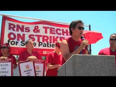 Nurses Strike Sutter to Protect Patient Care
