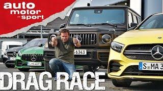 Drag Race AMG: Affalterbacher Asphalt-Spiele I auto motor und sport