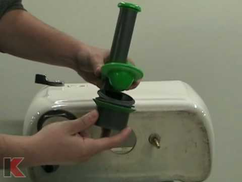 Keeney Manufacturing Universal Toilet Tank Repair Kit Installation Tutorial