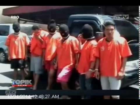 [ANTV] TOPIK, 6 Komplotan Curanmor Dibekuk Polisi Salah Satunya Wanita Cantik