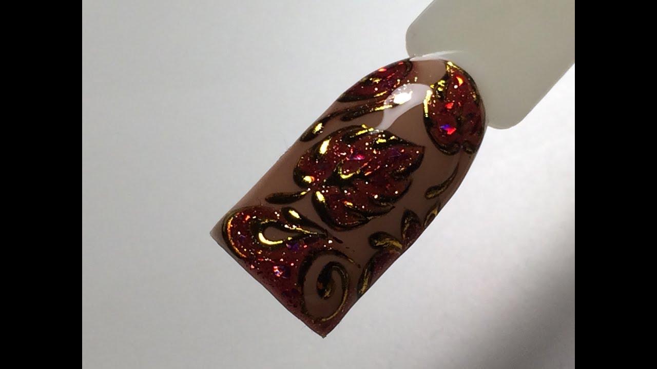 Смотреть видео дизайн ногтей