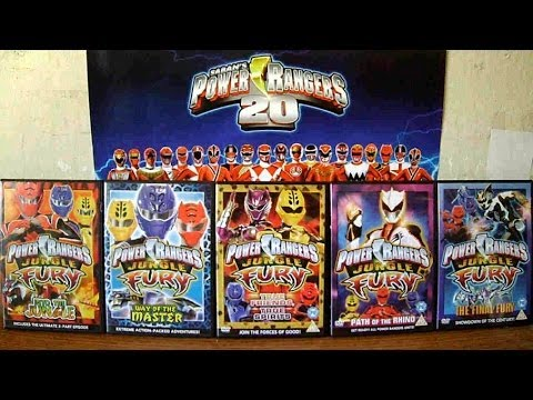 Unboxing power rangers jungle fury the complete 5 volume - Power rangers megaforce jungle fury ...