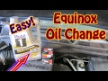 DIY How to Perform an Oil Change and Filter Replacement On a Chevy Equinox Oil Life Indicator Reset