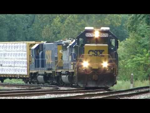 CSX Q398-04 with GP15-1 Through Relay, MD