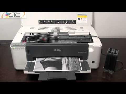Impresora Epson WorkForce K101 Con Sistema de Tinta Continua