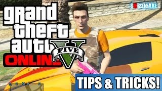 GTA 5 Online Tips & Tricks - How To Change Crosshairs, Roll, Max Ammo & More! (GTA V)