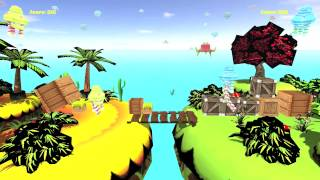 OUYA Alien Resource Battle Gather to win