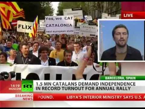 CATALONIA wants to be INDEPENDENT as Spain's ECONOMY gets worse (WEALTHY want the divide)