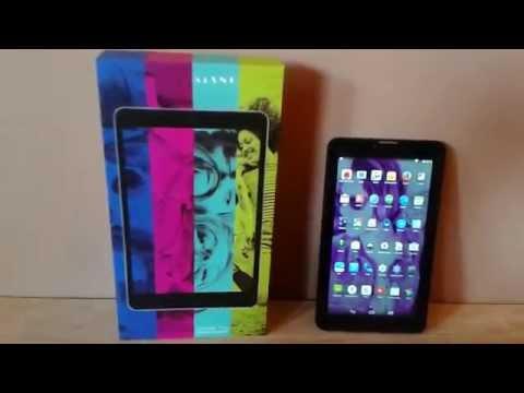 Kiano Slimtab 7 3G GPS TEST