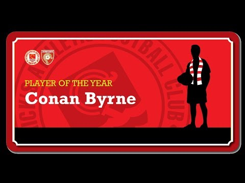 2017 Player of the Year - Conan Byrne