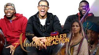 Aladdin Trailer Reaction