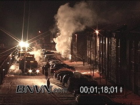 12/8/2005 Generic Apartment Fire during the middle of the night in winter