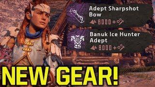 Horizon Zero Dawn New Game Plus - NEW WEAPONS & ARMOR (Horizon Zero Dawn Tips And Tricks