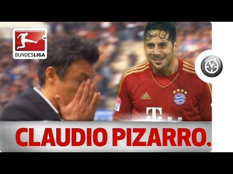 Claudio Pizarro the Hamburg Hunter