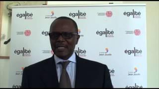 Interview de Ousmane Tanor Dieng au colloque ''Les chemins de l'égalité dans un monde global''