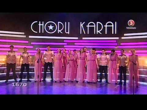 Chorų Karai 2012.01.29 Kauno raj. BOŽOLĖ choro pasirodymas - Mama