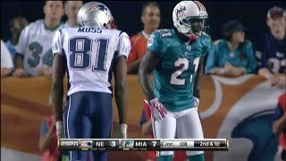When Randy Moss was SHUT DOWN by Vontae Davis (WR vs CB) 2010