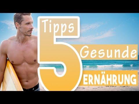 5 Einfache Tipps Für Eine Gesunde Ernährung |Daniel Lukoschek | 7WochenChallenge
