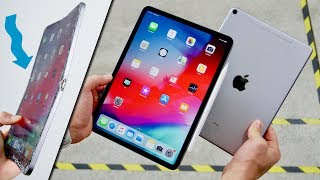 2018 iPad Pro DROP & BEND Test! Thin Is Bad..