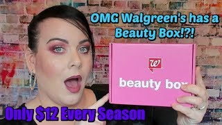 OMG!!! Walgreen's Has a Beauty Box// August 2018 Walgreens's Beauty Box