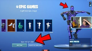 JENSENSNOW Gave Himself EVERY ITEM in Fortnite.. (Hes back)
