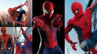 Spider man Actors : 1997,2002,1012,2016 ( sự thay đổi của người nhện qua từng năm )