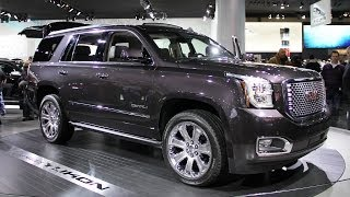 2015 GMC Yukon Denali - new redesigned and improved full size SUV