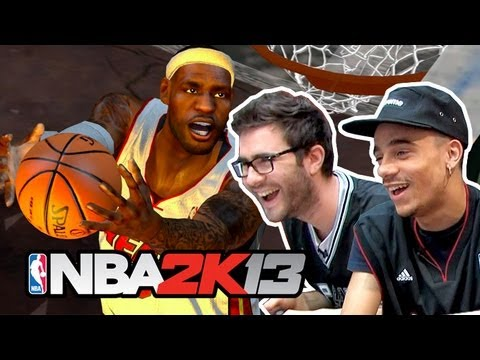 Cyprien Mister V - NBA 2K13 on refait la finale Spurs-Miami Heat !