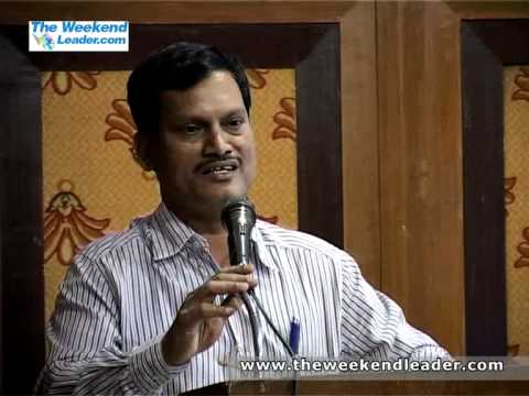A Muruganantham's speech on 'The Story behind the invention of low cost sanitary napkin machine'