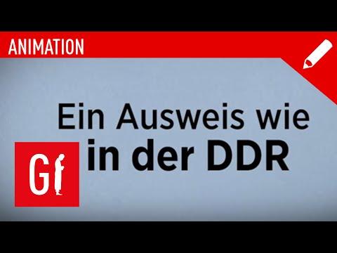 Ein Ausweis wie in der DDR - Animation
