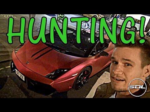 Supercar Hunting from Lamborghini: Matte Chrome Madness!