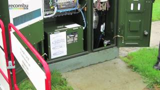 Superfast Cornwall: Inside a BT fibre broadband cabinet