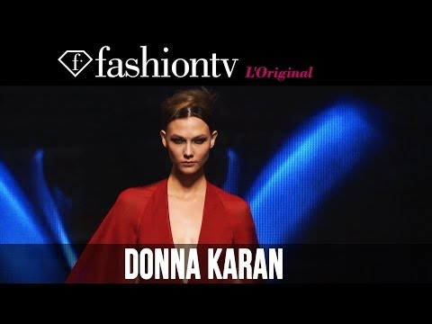 Donna Karan New York Fall/Winter 2014-15 ft Karlie Kloss | New York Fashion Week NYFW | FashionTV