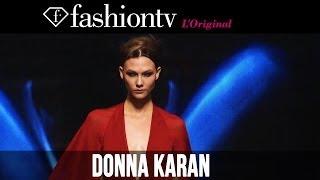 Donna Karan New York Fall/Winter 2014-15 ft Karlie Kloss   New York Fashion Week NYFW   FashionTV