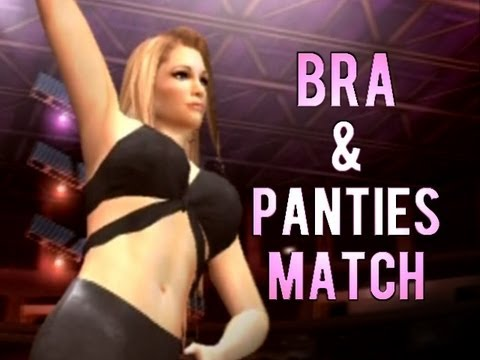 Wwe Smackdown: Here Comes The Pain - Bra & Panties Match video