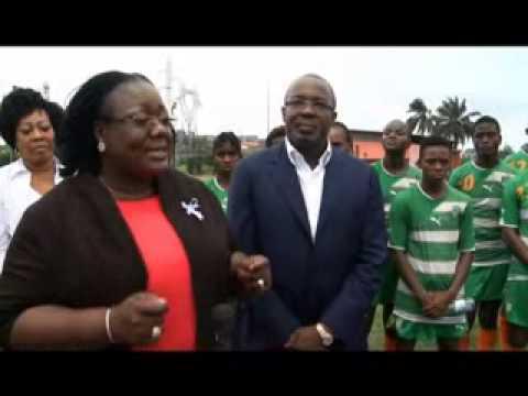 Sport /coupe d'Afrique de football féminin : le soutien du ministre Anne OULOTO