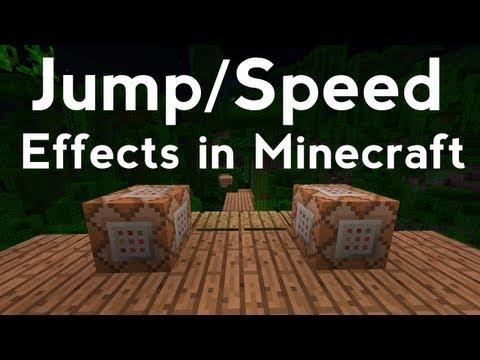 Jump/Speed Effect Tutorial in Minecraft