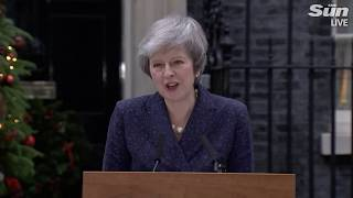 LIVE: Theresa May survives vote of no-confidence