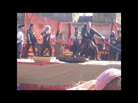 Zaragata entre Piratas - Feira de Piratas de Le�a da Palmeira