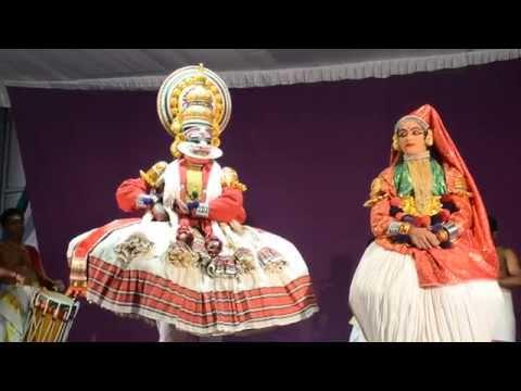 Kathakali, The Traditional Classical Dance Of Kerala, India video