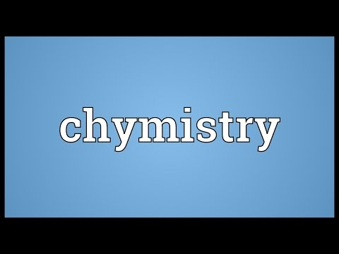 Header of chymistry